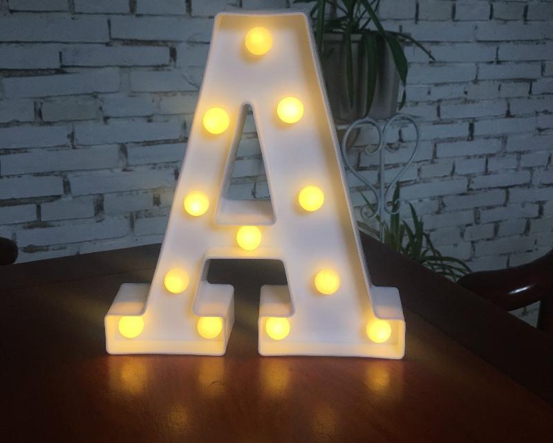 Alphabet LED Letter Night Lamp